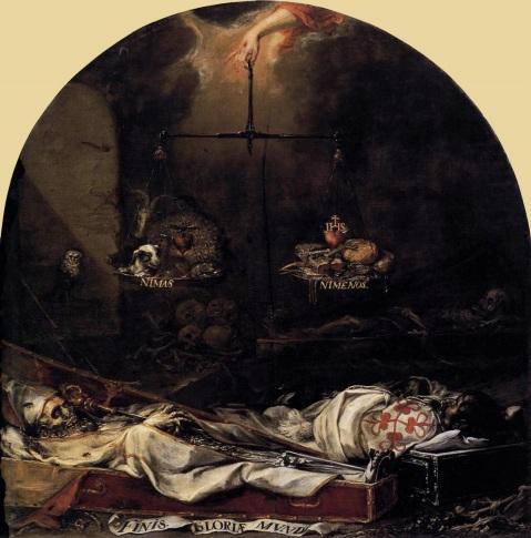 Juan de Valdés Leal. Finis Gloriae Mundi, 1672