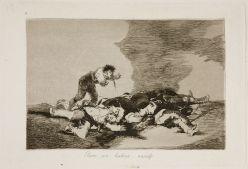 Goya. Desastres de guerra 12. Para eso habeis nacido