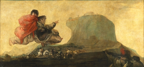 Goya. Asmodea. 1820-1823.
