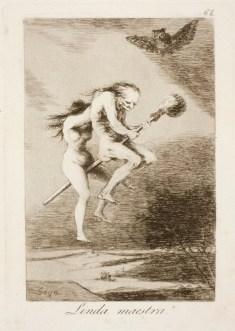 Goya. Capricho 68. Linda maestra. 1799