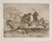 Goya. Desastres da Guerra 29. Populacho