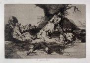 Goya. Desastres da guerra 16. Se aprovechan