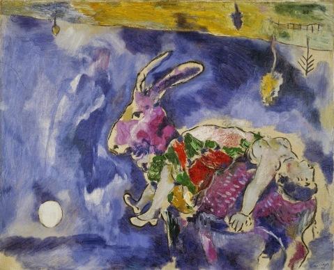 Marc Chagall. O Sonho. 1927.