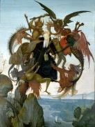 Michelangelo (atribuido a). Tormento de Santo Antão. 1488