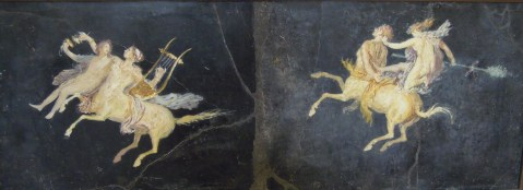 Pompeia. Fresco. Pormenor. Séc. I.