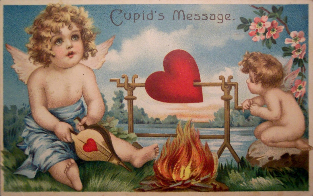Vintage Valentine_s Day cards all came from RiptheSkull on Flickr.