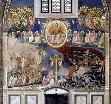 Gioto. Juízo final. Scrovegni Chapel. 1306