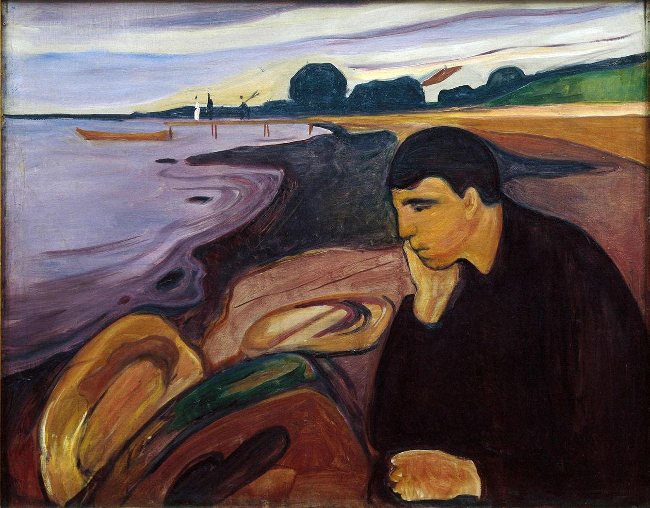 Edvard Munch. Melancolia, 1894-6