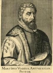 01. Marten de Vos. por Hendrick Hondius, Haia, 1610.