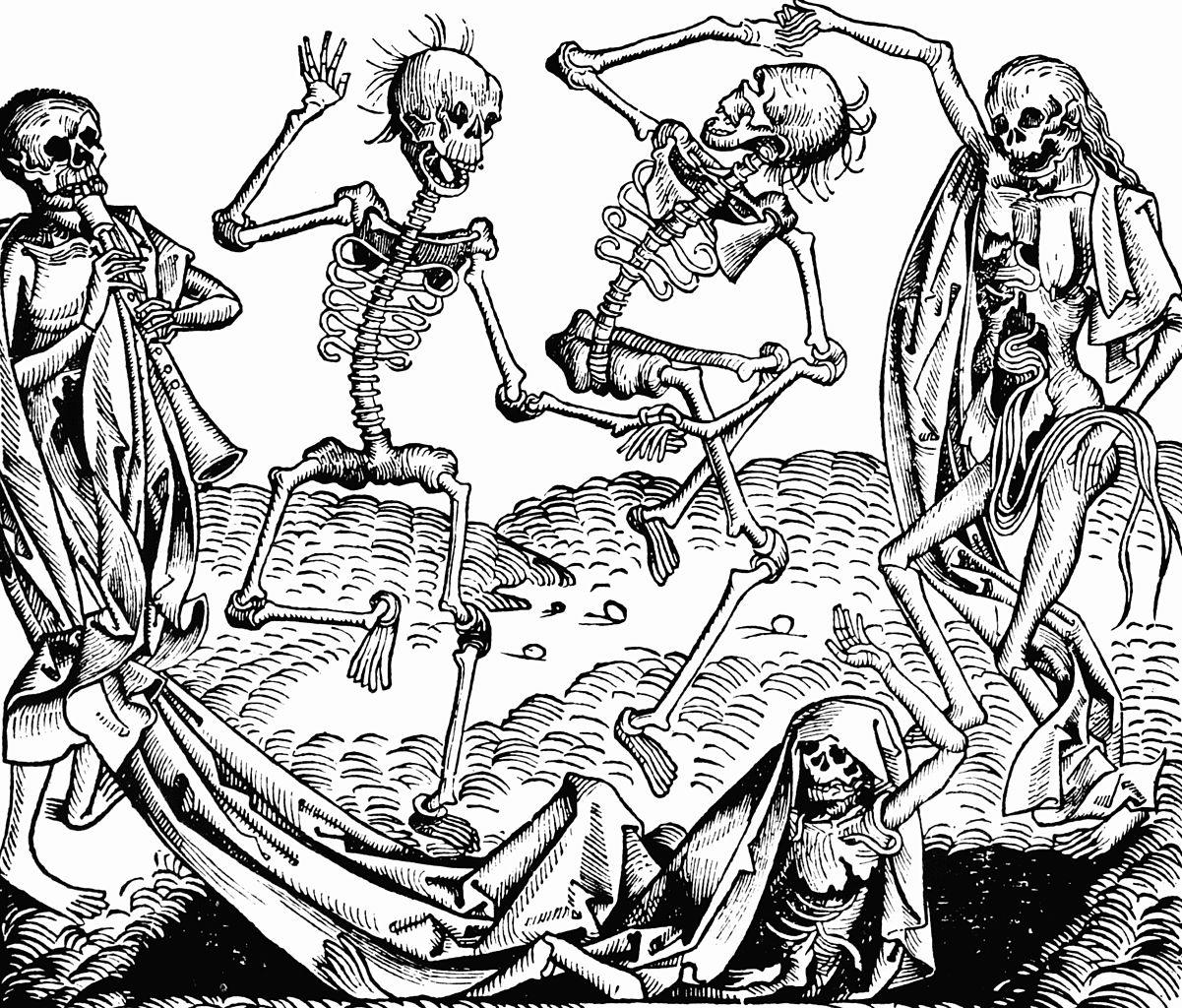 01. Nuremberg chronicles – Dance of Death. 1493
