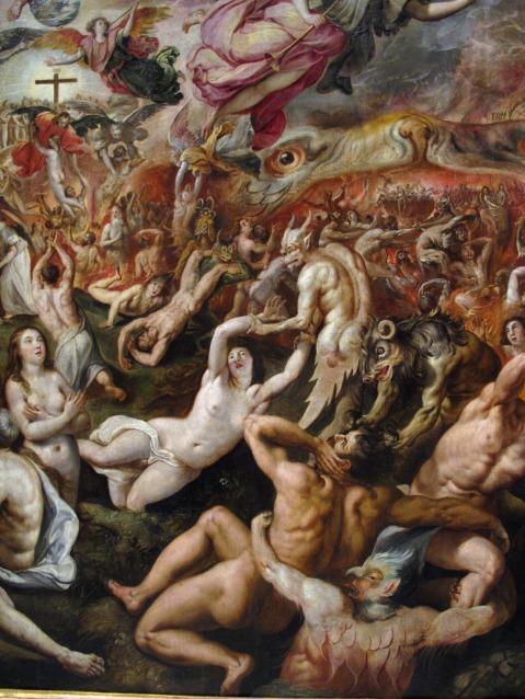03. Marten de Vos. Juízo Final. 1570. Detalhe