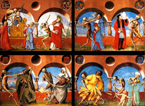 05. Albrecht kauw. Dança macabra. 1649