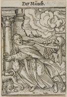 06. Monge. Dança da Morte de Hans Holbein, o Jovem. 1538
