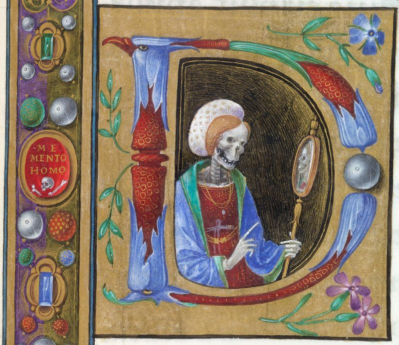 08. Book of Hours ('The Hours of Dionara of Urbino_), central Italy (Florence or Mantua), c. 1480.