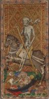 08. Morte. Tarot Visconti. Itália, ca 1441