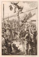09. Johann Rudolf Schellenberg. Dança macabra. Século XVIII