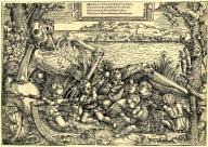 16. Escola Francesa. Morte no meio do prazer mundano. 1580