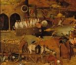 15. Pieter Bruegel. O Triunfo da Morte. 1525-1530. Detalhe