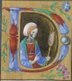 23. Seculum vanitas. Livro de Horas. Itália, ca. 1480