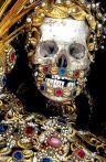36. Sto Albertus, das catacumbas romanas. Igreja de S. Jorge. Burgrain. Alemanha. Fotografia de Paul Couidounaris