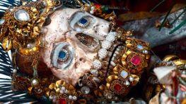 37. Mártir Valerius, das catacumbas romanas. Weiarn. Alemanha. Fotografia, Paul Koudounaris