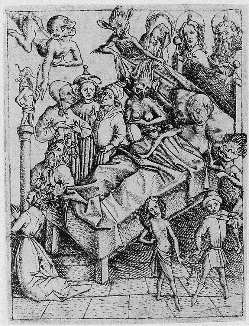 03. Mestre E.S. Tentação da falta de fé. Ca. 1450