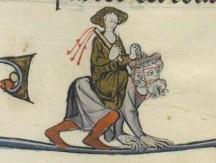 04. Filis a cavalo de Aristóteles. Séc. XIII a.C. GallicaBnF, Fr. 95.