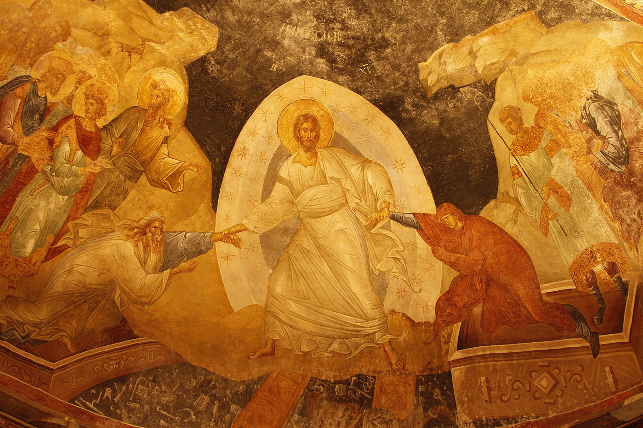 22. Igreja de São Salvador em Chora. Istambul
