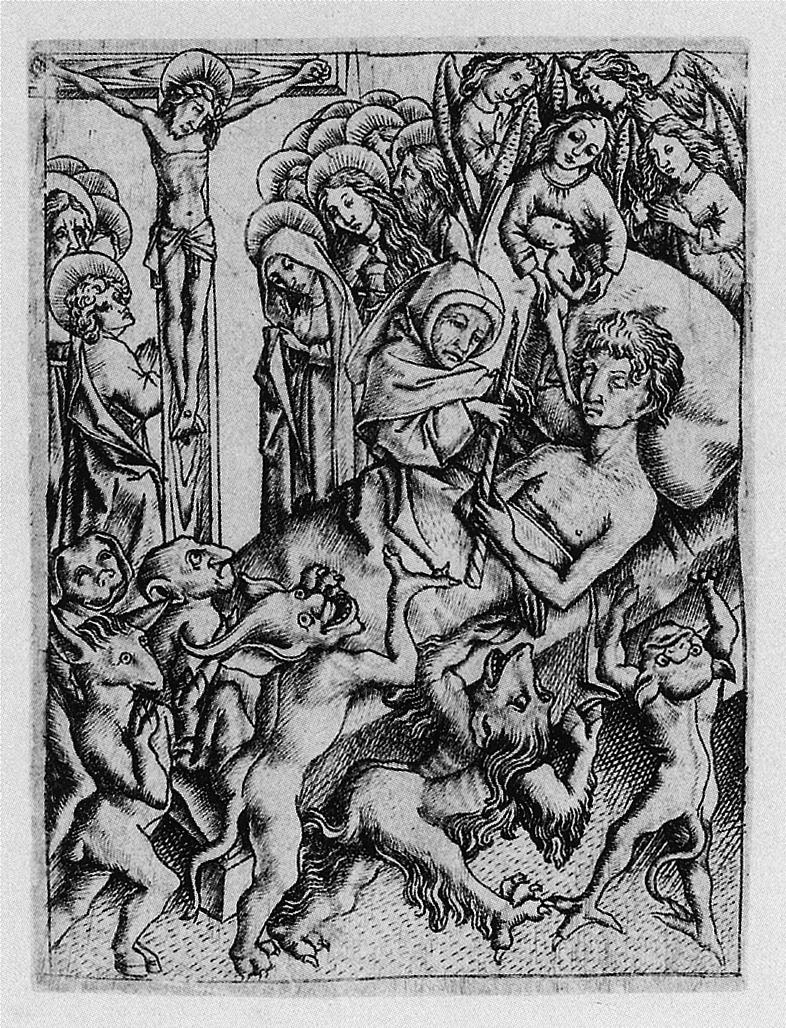 04. Mestre E.S. Ars moriendi. Ca. 1450