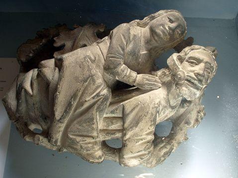 06. Filis e Aristóteles., Cadouin Abbey, França