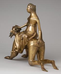 07. Aguamanil. Fim do séc. XIV. New York Metropolitan Museum