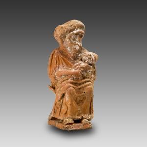 06. Ama grotesca sentada com o bebé. Grécia, séc. IV a.C.