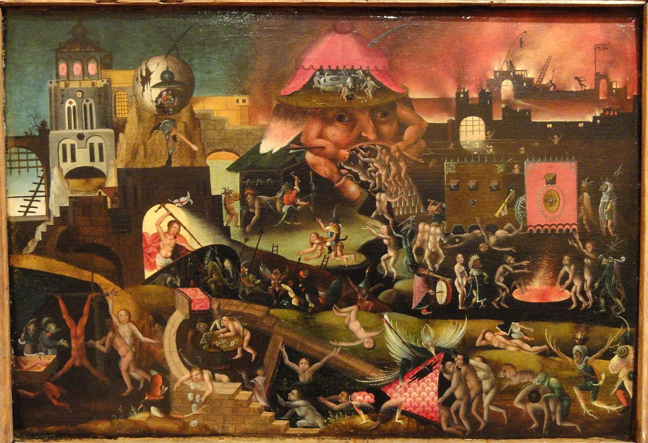 23. Discípulo de Hieronymus Bosch. Cristo no limbo, ca. 1550