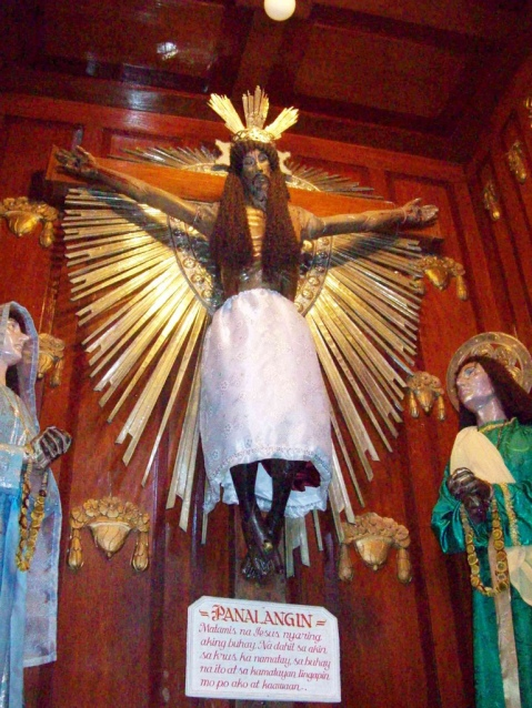 5. Santo Cristo de Burgos. Saraya, Quezon. Filipinas.