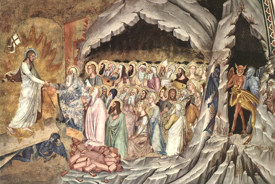 Andrea Boniauto. Descent of Christ. Limbo, 1365-1368.