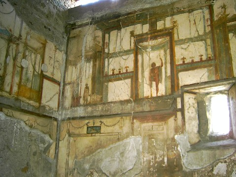 Pompeia. Frescos