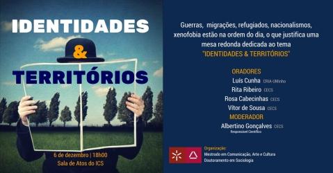 Identidades & Territórios. 06.12.2017