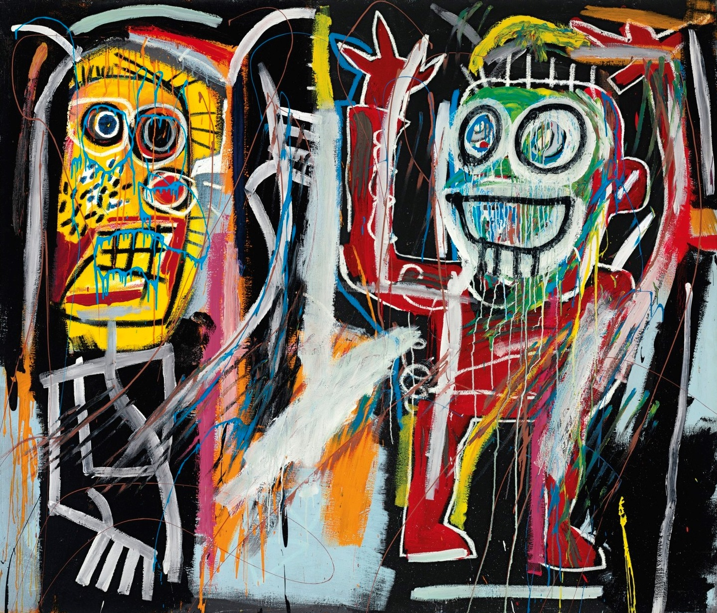 Jean-Michel Basquiat, Dustheads, 1982