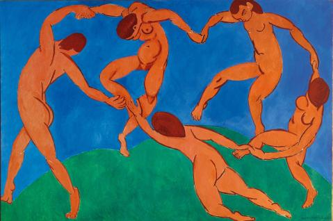 Henri Matisse. A dança. 1910. Museu Hermitage.