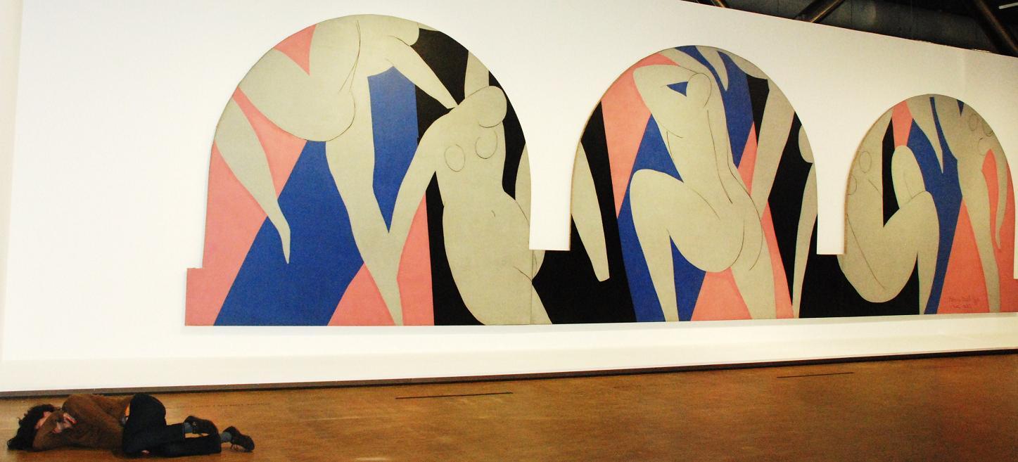 Henri Matisse. A dança de Paris. 1931-1933. Fotografia de Henning Høholt.