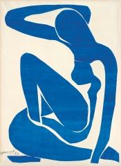 Henri Matisse. Blue Nude (I). 1952