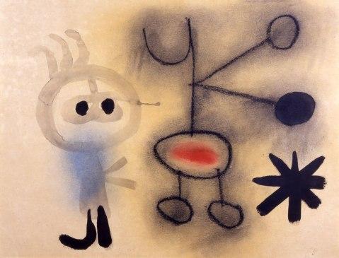 Joan Miró. Sem título.