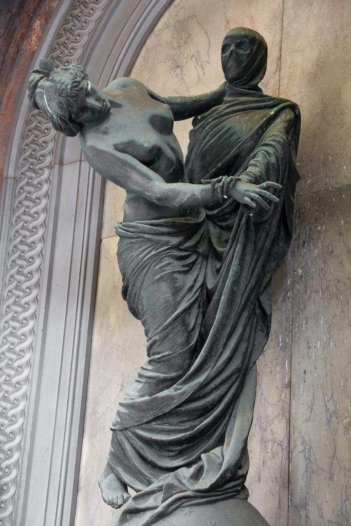 Cemitério Monumental de Staglieno, em Génova. 1851