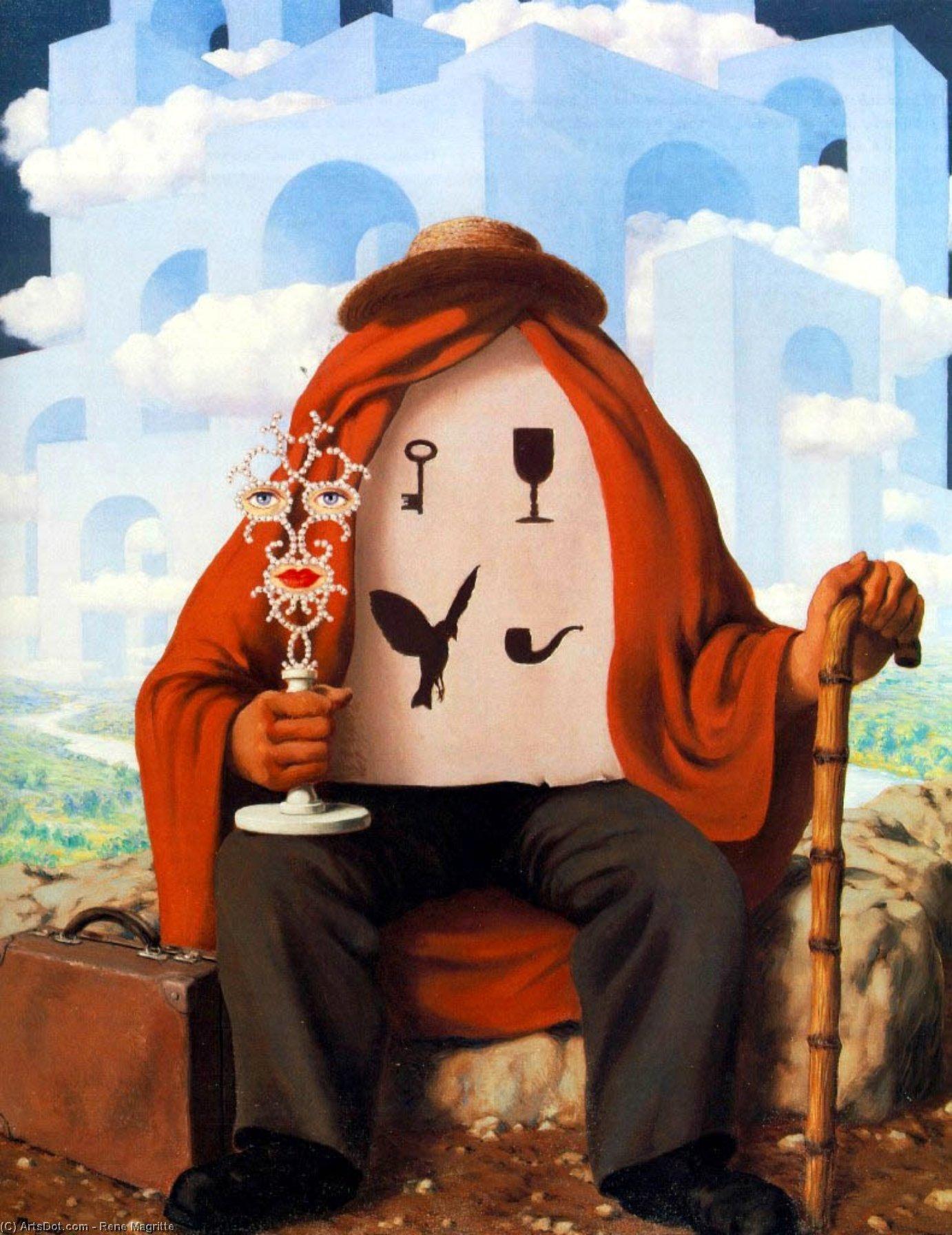 René Magritte. O Libertador. 1947.