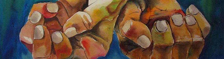 01.Eduardo Kingman. Mãos.