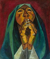 04. Eduardo Kingman . Praying Woman, 1956