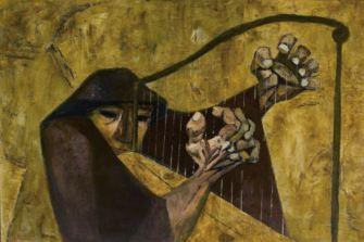 05. Eduardo Kingman . Arpista, 1963