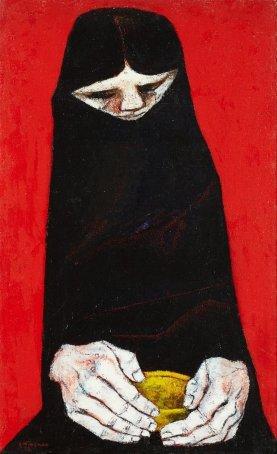 16. Eduardo kingman. La Comida. 1972.