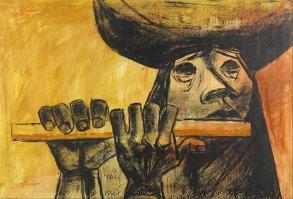 17. Eduardo Kingman. La Flauta