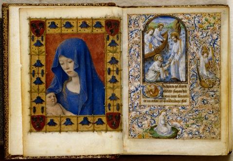 Livro de Horas de Simon de Varie. França. 1455.